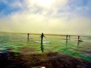 capitola paddle boarding